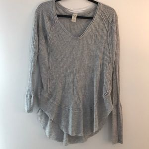 We the free free people waffle knit top